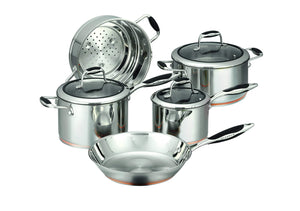 Load image into Gallery viewer, Scanpan Coppernox 5 Piece Cookware Set - Bronx Homewares