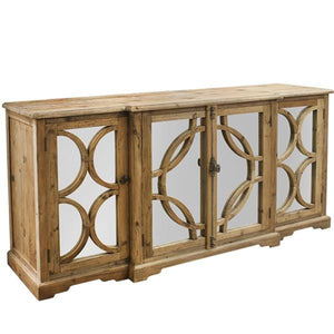 Keats Mirror Sideboard natural reclaimed timber