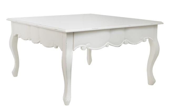 Sweet Pea Coffee Table with distressing