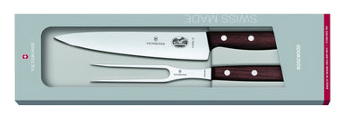Victorinox Carving 2Pc Set Rosewood - Bronx Homewares