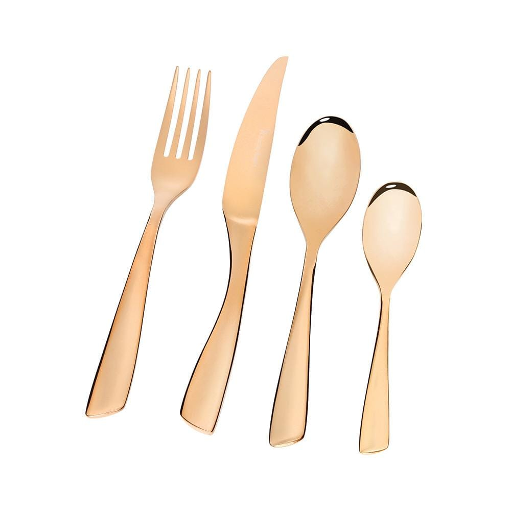 Stanley Rogers Soho Gold Cutlery Set 24pce - Bronx Homewares