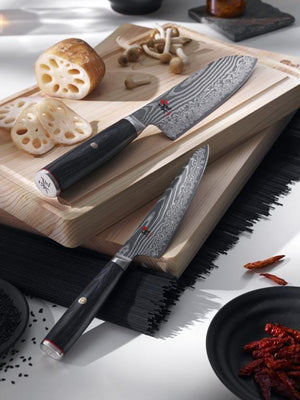 Load image into Gallery viewer, Miyabi 5000FCD Utility 13cm and Chef 20cm 2pc Set - Bronx Homewares