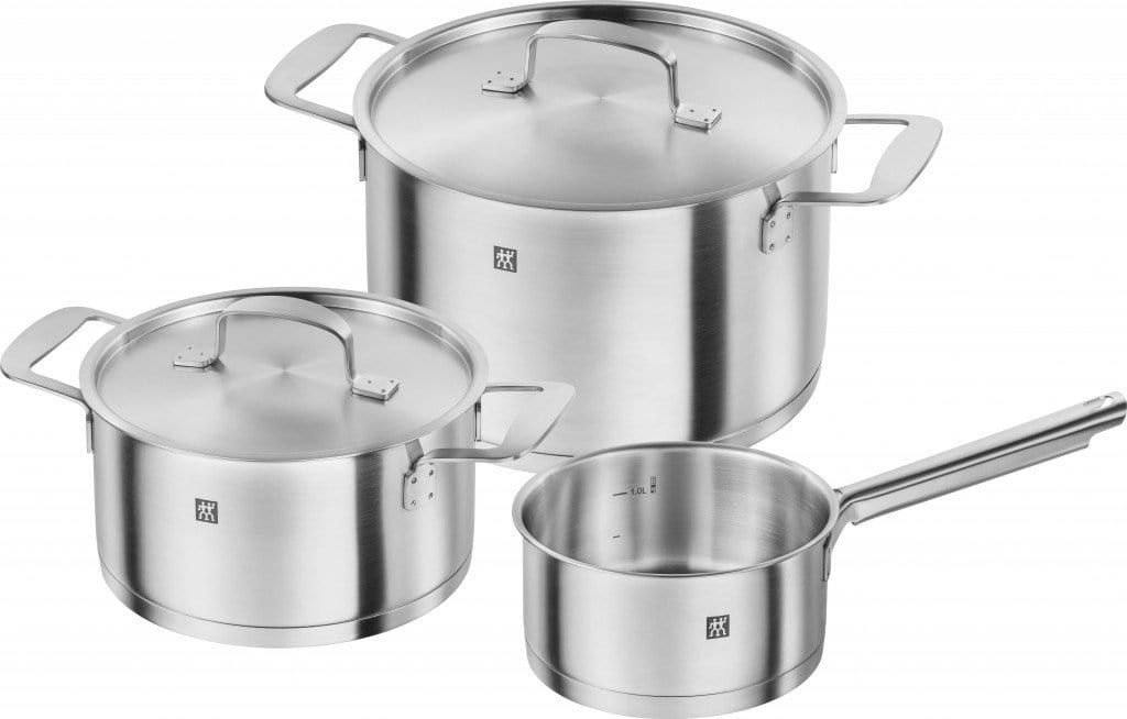 Zwilling Base Cookware Set 3 Piece - Bronx Homewares