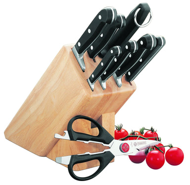 Mundial - Bonza Knife Block 9 Piece Set - Bronx Homewares