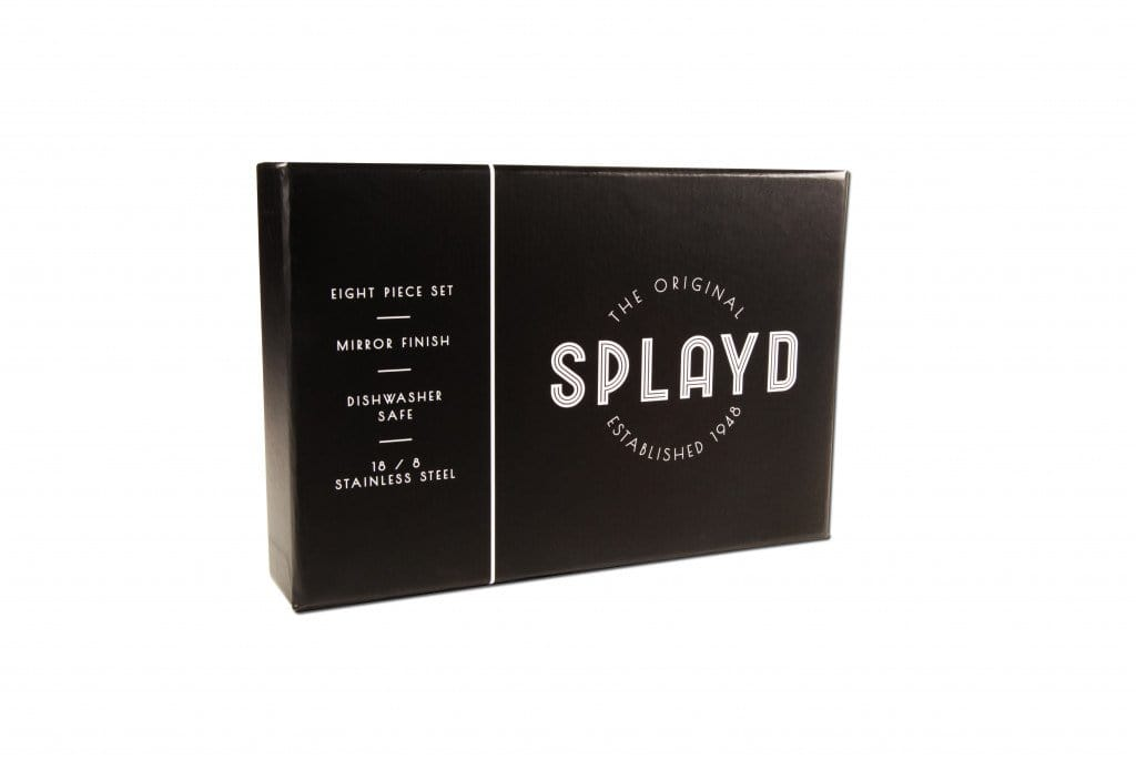 Splayd Black Label Stainless Steel Mirror Set of 8