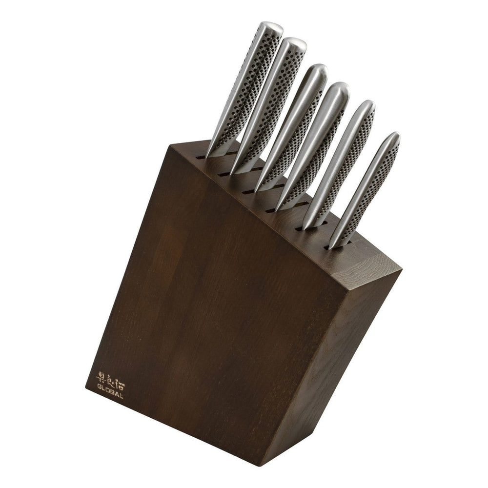 Global Kyoto 7 Piece Knife Block Set