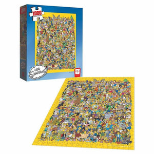 IN STOCK The Simpsons Casting Call 1000-Piece Puzzle
