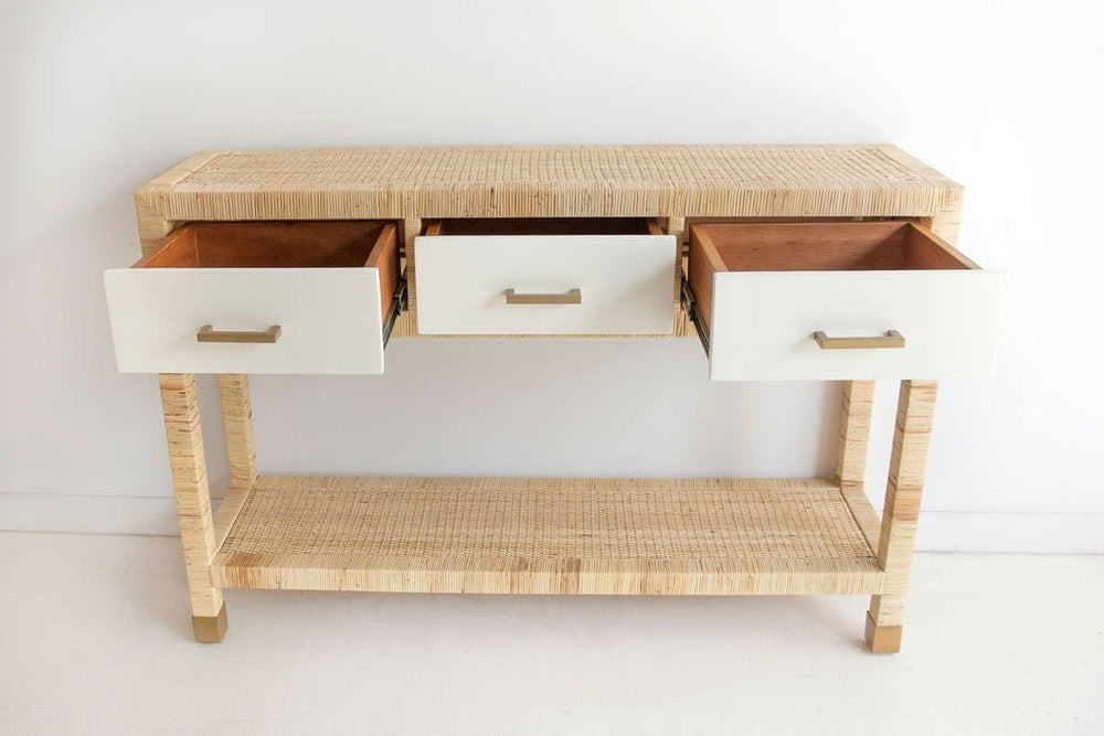 Palms Console Table by Abide Interiors
