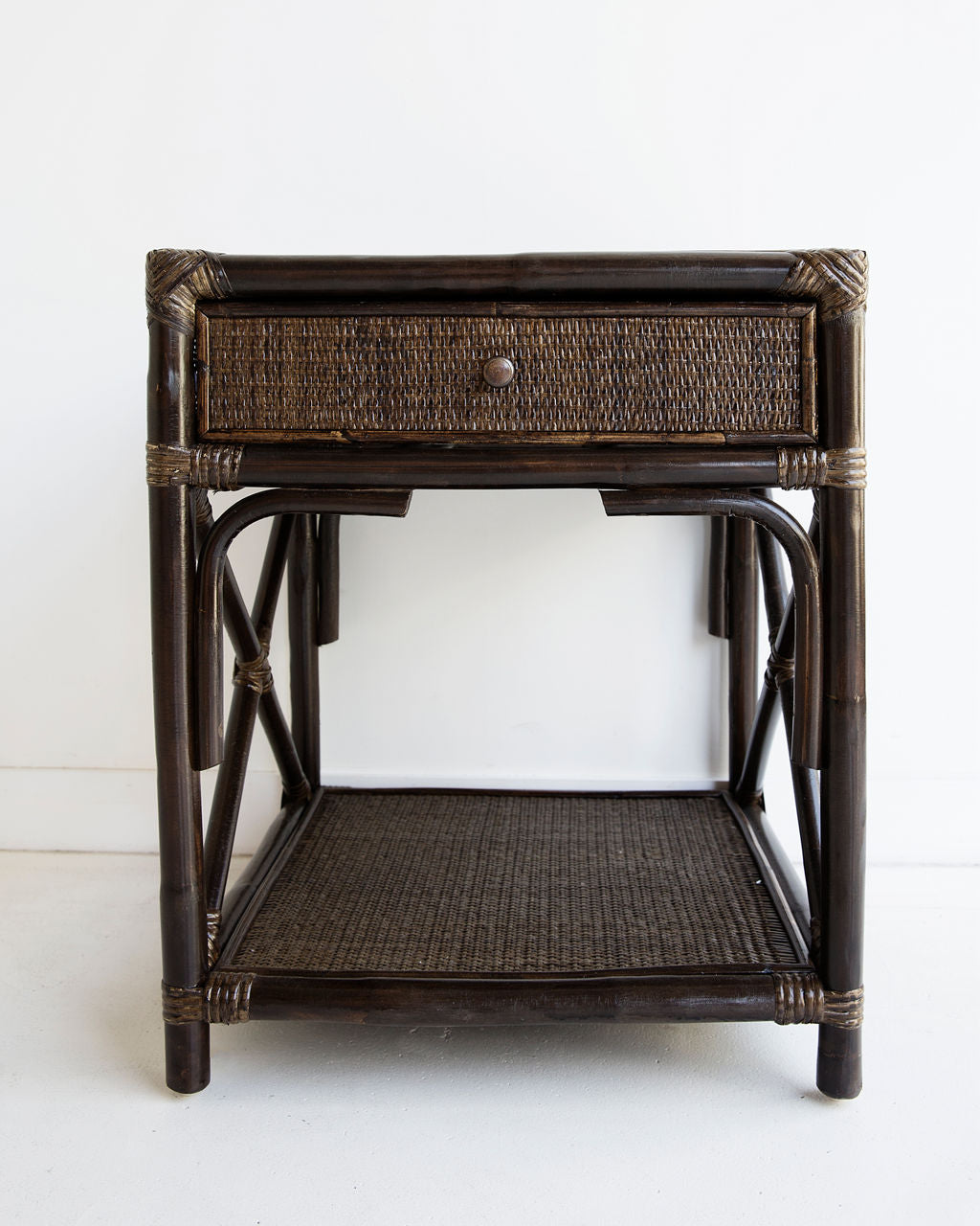 Belize Bedside Table – Espresso