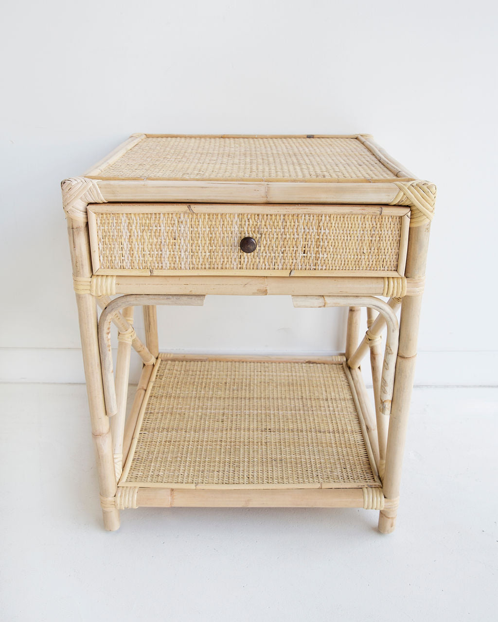 Belize Bedside Table – Natural