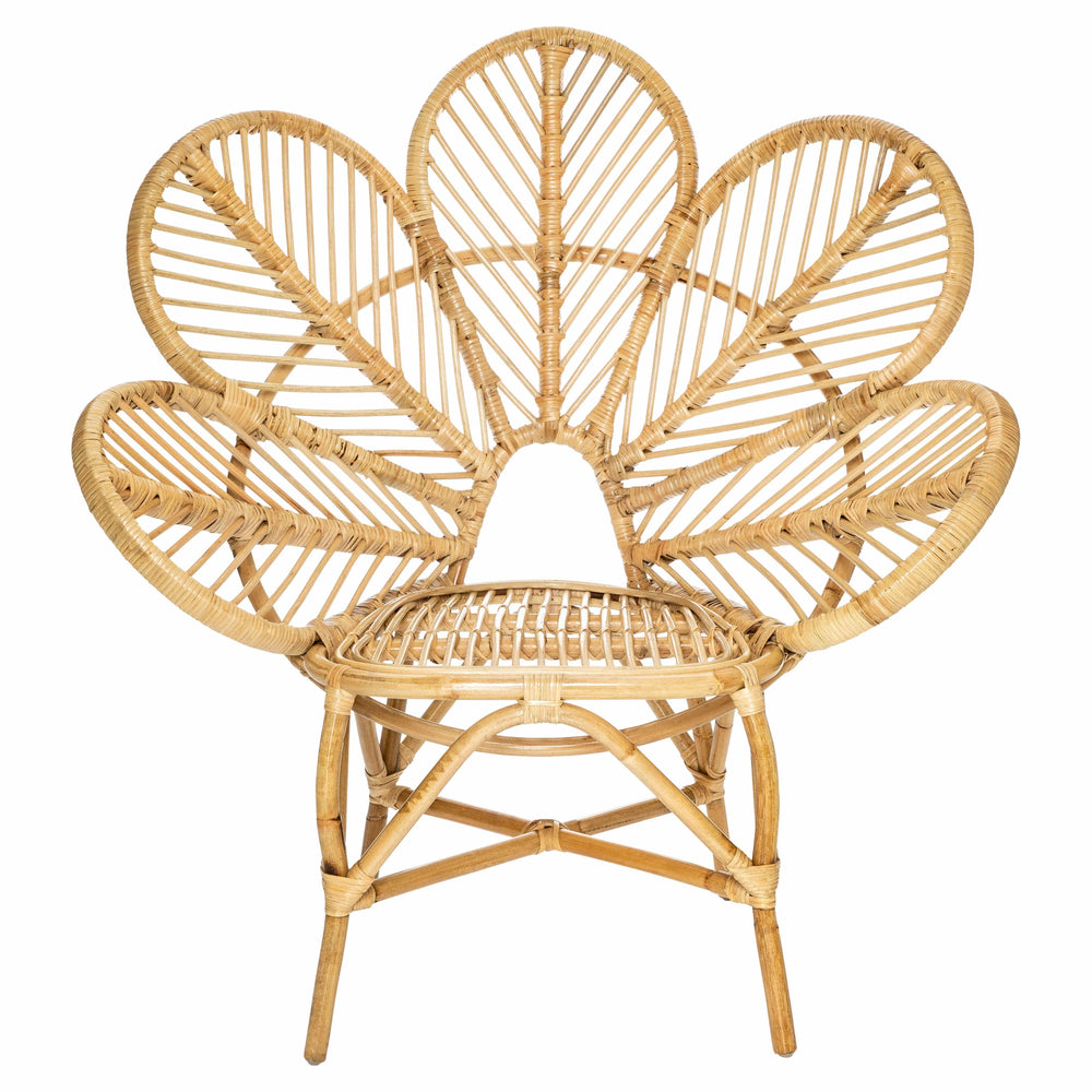 Flower Rattan Chair by Alexander Santorini