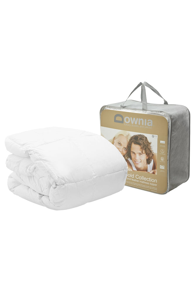 Downia Gold Collection Down and Feather Mattress Topper