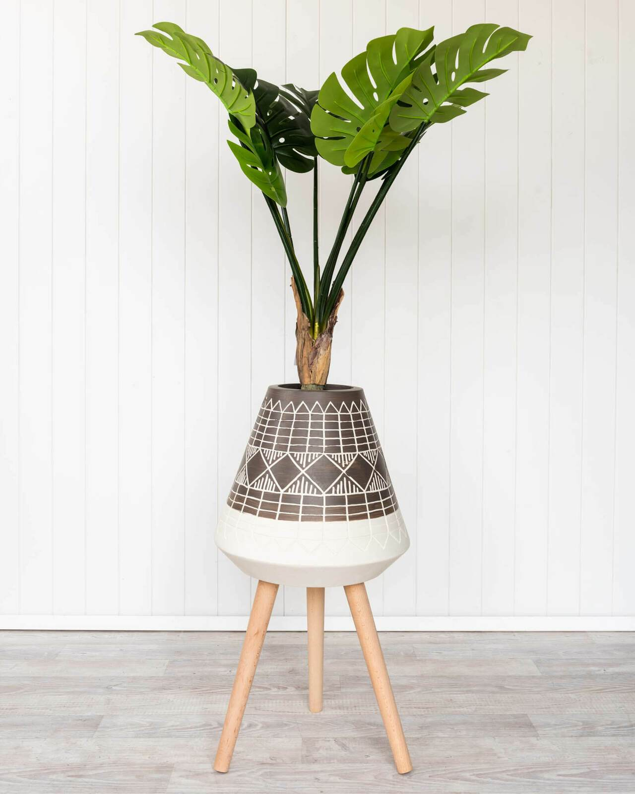 Ndee - Thin Tulip Planter -   44x44x81cm - Bronx Homewares