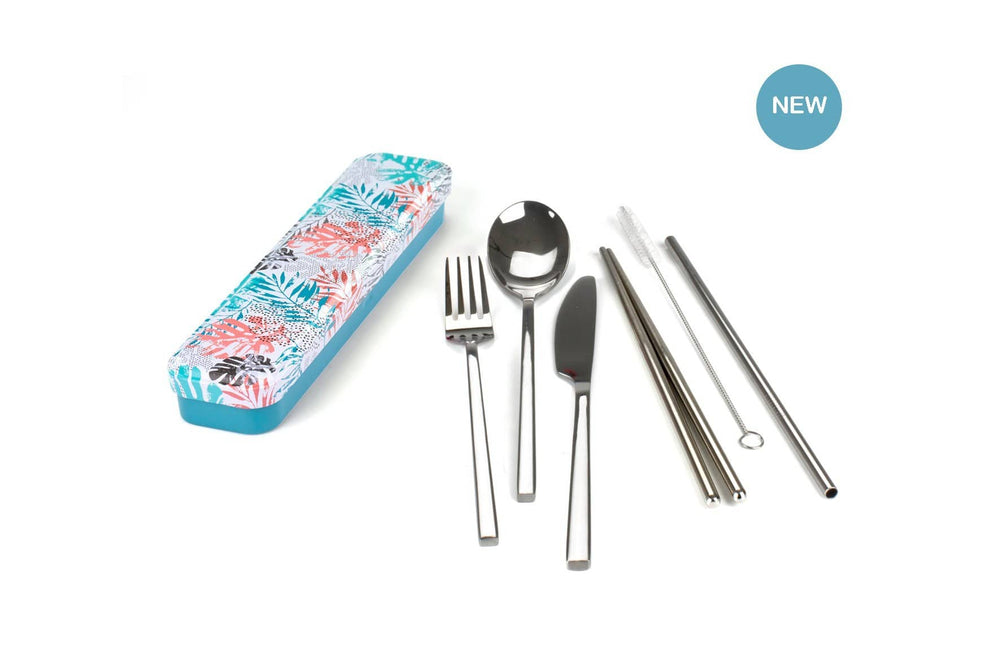 RETRO KITCHEN Carry Your Cutlery - Stainless Steel Cutlery Set