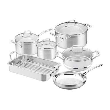 Scanpan Impact 6pc Cookware Set w/ Roaster - Bronx Homewares