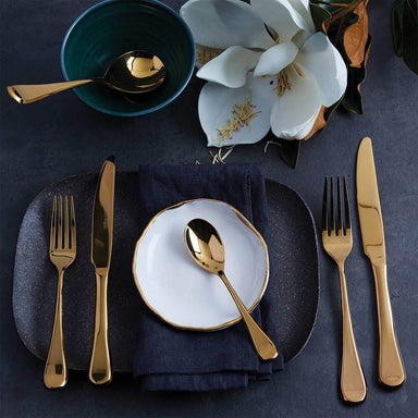 Stanley Rogers Chelsea Gold 56 Piece Set - Bronx Homewares