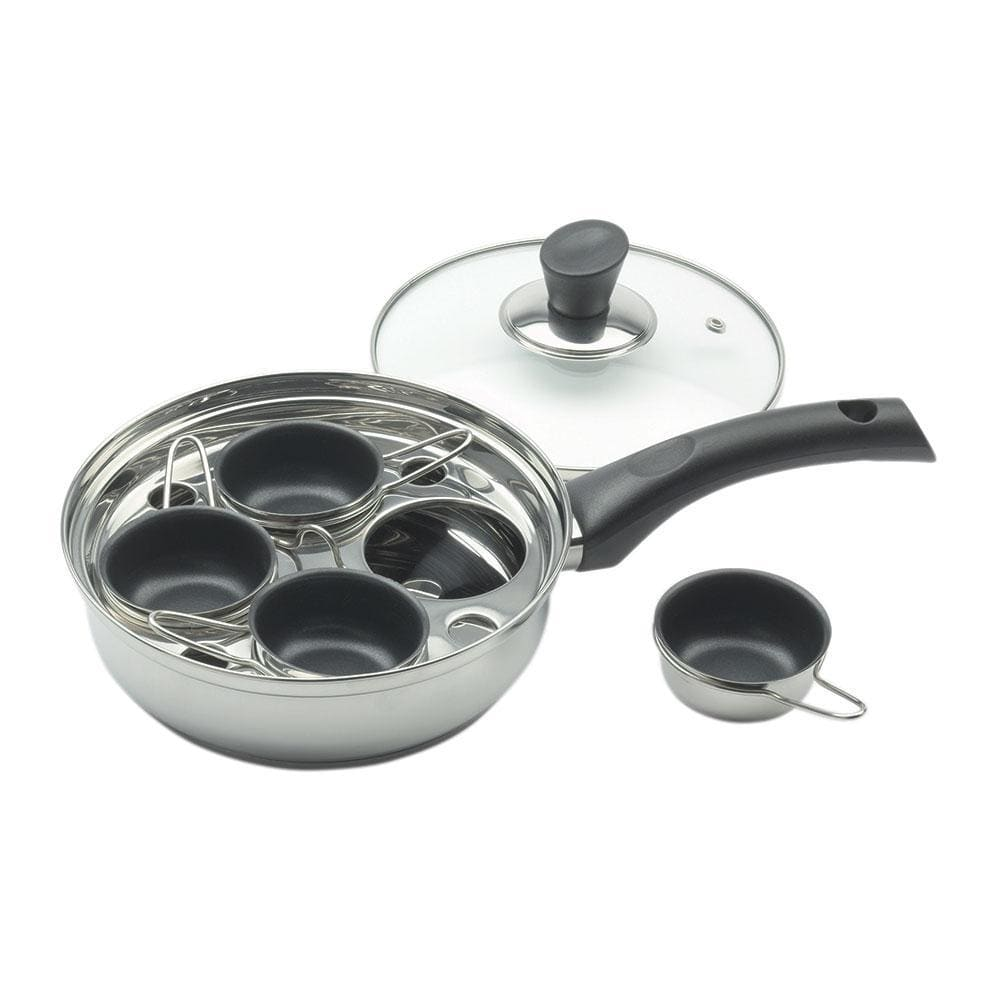Wiltshire Soho 4 Cup Non-Stick Egg Poacher