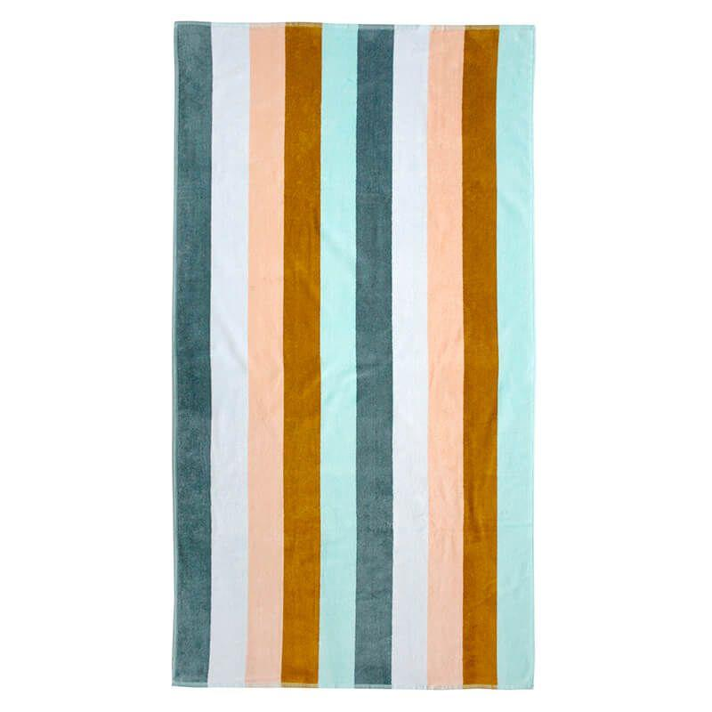 Bambury Egyptian Cotton Jacquard Beach Towels - Bronx Homewares