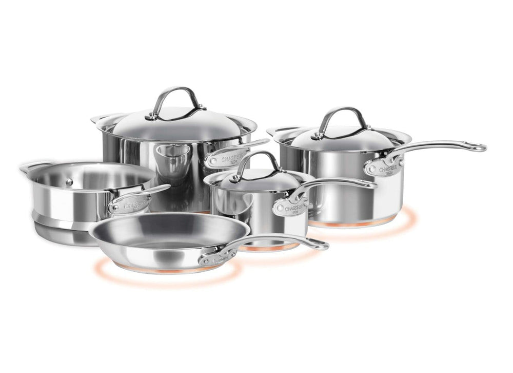 Chasseur Le Cuivre 5 Piece Cookware Set - Bronx Homewares