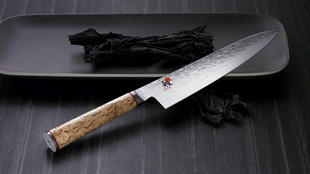 (SALE!) Miyabi Birchwood 5000MCD Santoku, Shotoh Utility and Shotoh Knife, 3 Piece Set 625154