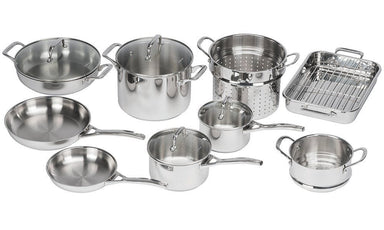 Pyrolux Pyrosteel 10 Pce Cookware Set - Bronx Homewares