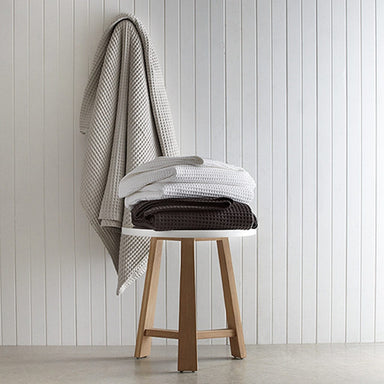 Canningvale Luxury Cotton Waffle Blanket Queen - Bronx Homewares