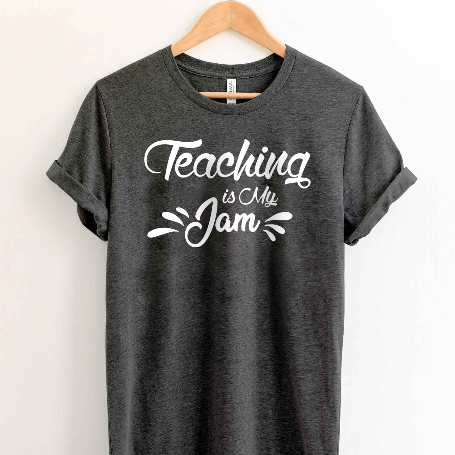 Teaching is My Jam T Shirt for teacher