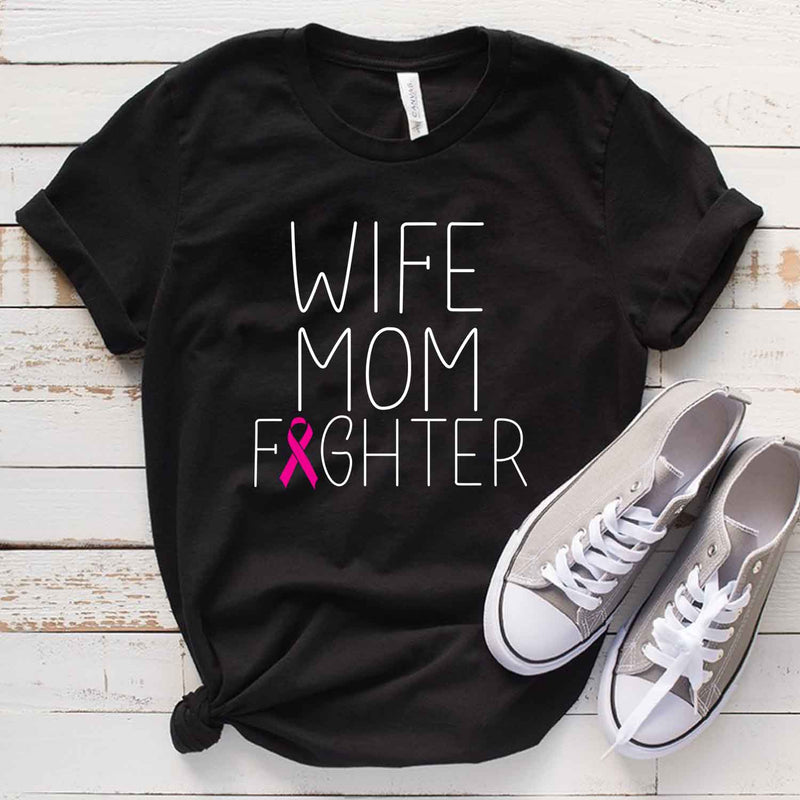 Breast Cancer Fighter T Shirt