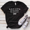 Seniors The One Where They Graduate in 2019 T Shirt