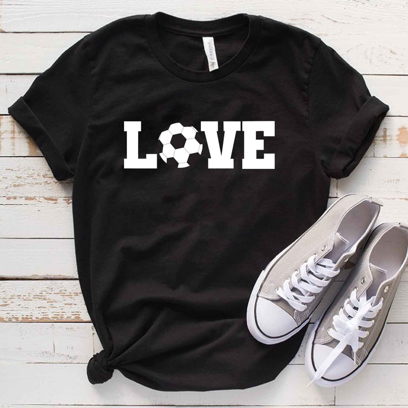 Love Soccer T Shirt