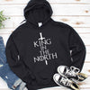 King In The North T shirt Gift for Game of Thrones Fans