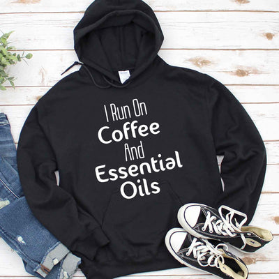 I Run On Coffee And Essential Oils T Shirt