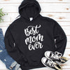 Typography Best Mom Ever T Shirt