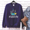 Lab life T Shirt For Medical Technician Gift