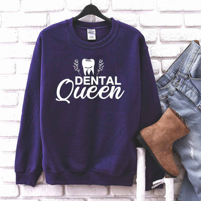 Dental Queen T Shirt Gift for Dental Hygienist Dental Student