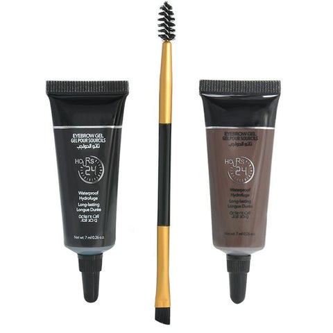 Two-Color Liquid Eyebrow Cream Mascara