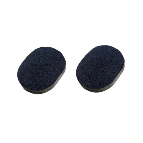 2pcs Black Facial Cleaning Sponge with Activated Bamboo Charcoal