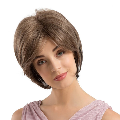 Short Straight Synthetic Hair Wigs