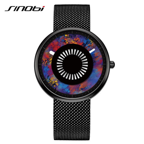 SINOBI Luxury Fashion Stainless Steel Wrist Watch