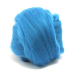 Aquamarine Dyed Merino Tops