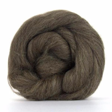 Natural Brown Blue Faced Leicester (BFL) Tops