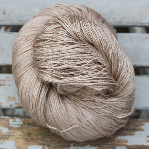 Silk/Camel Yarn - 2-ply (lace-weight)