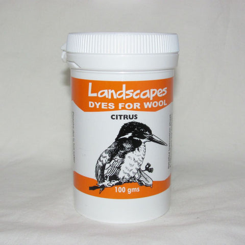 Citrus Landscapes (Originals) Dye