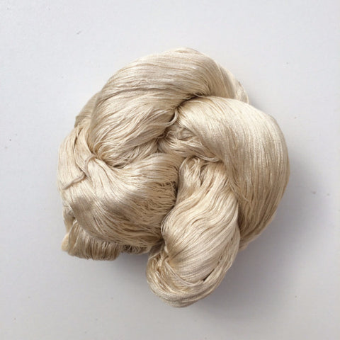 Undyed Silk Yarn - 60/2