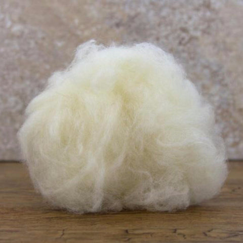 Carded Lambswool (100g)