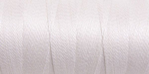 Bleached White mercerised cotton