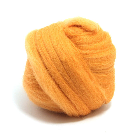 Peach Dyed Merino Tops