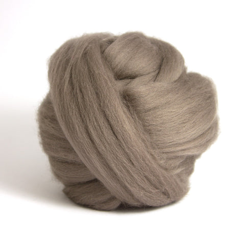 Pewter Dyed Merino Tops