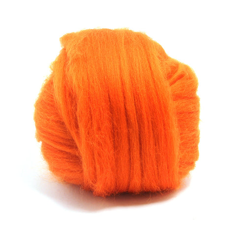 Pumpkin Dyed Merino Tops