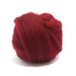 Ruby Dyed Superfine Merino Tops
